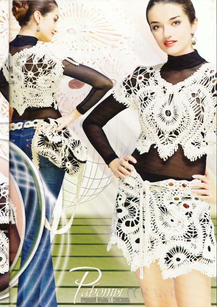 Hairpin Lace Crochet Patterns Book Shawl Cardigan Top Magazine ...