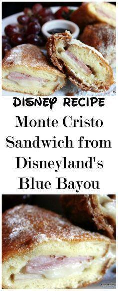 Disney Recipe: Monte Cristo Sandwich from Disneyland