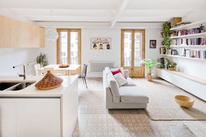 Ático u2013 dúplex con gran terraza Interiors, Attic and Natural interior