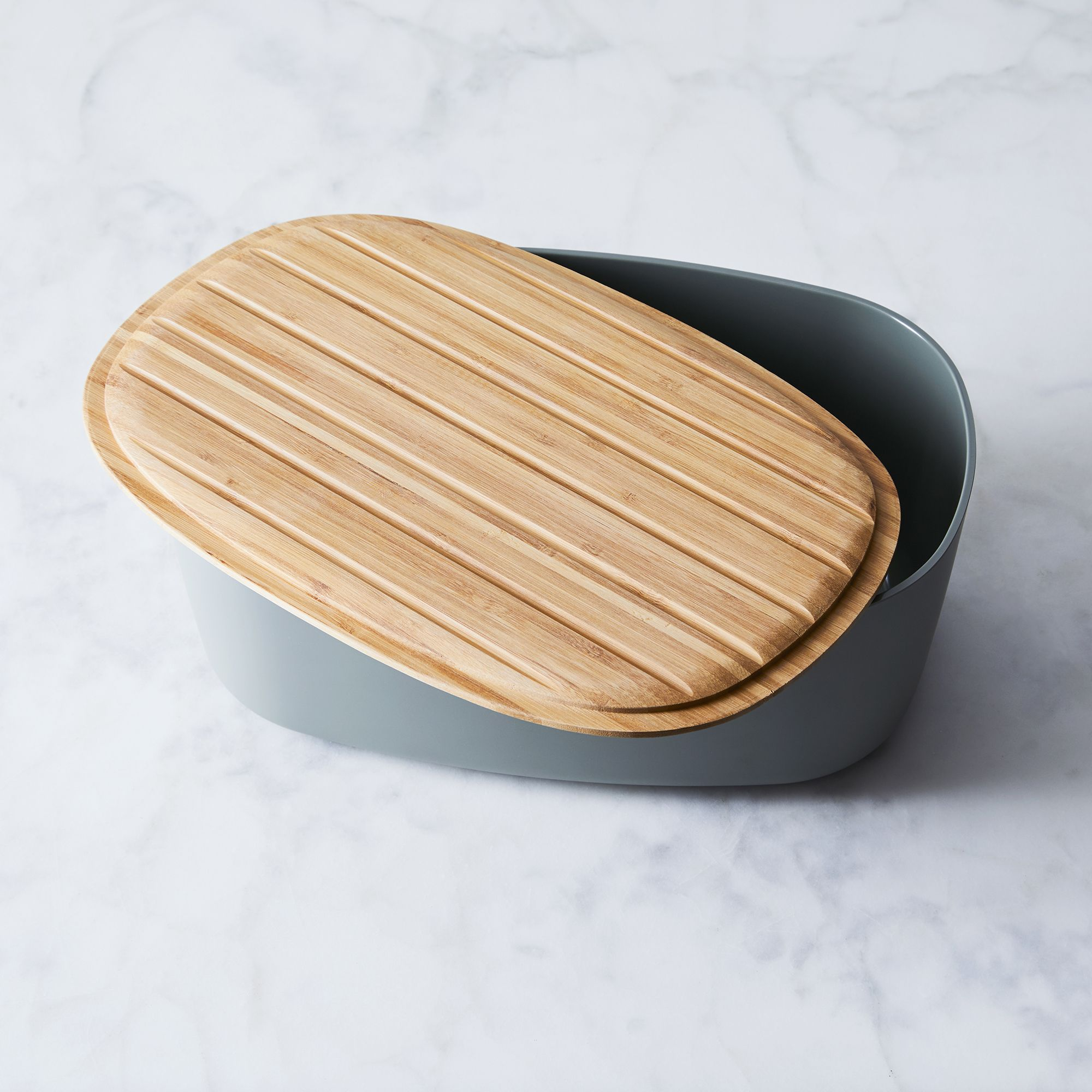 Modern Bread Box With Reversible Lid With Images Modern Bread
