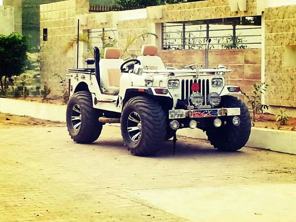 Desi Jeep Jeep Monster Trucks Background Images Hd