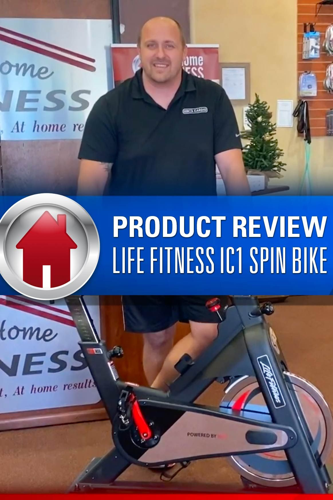At Home Fitness Mike Sullivan Reviews Life Fitness Ic1 Spin Bike Spin Bikes Fit Life At Home Workouts