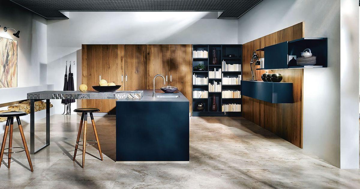 Next indigoblauwe keuken nx nx de combinatie van