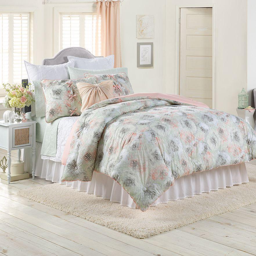 Lc Lauren Conrad For Kohls Peony Dreams Bedding Set Apartment