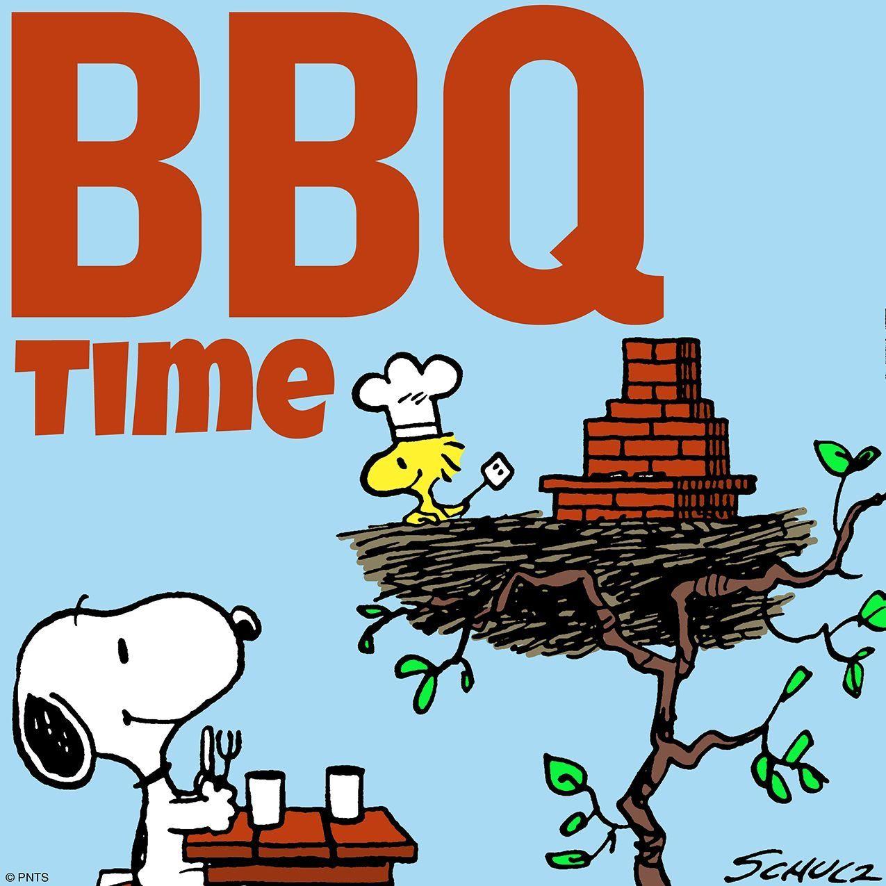 Woodstock quot peanuts quot desktop wallpaper - Snoopy And Woodstock It S Bbq Time