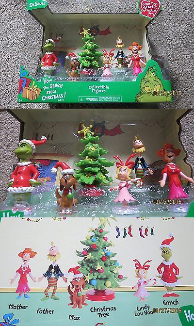 Dr Seuss 20906 Dr Seuss How The Grinch Stole Christmas Collectible