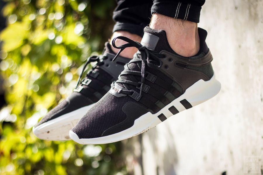 8afea5fe Adidas EQT Support ADV - CBLACK / CBLACK / FTWWHT | Sneaker | Save ...