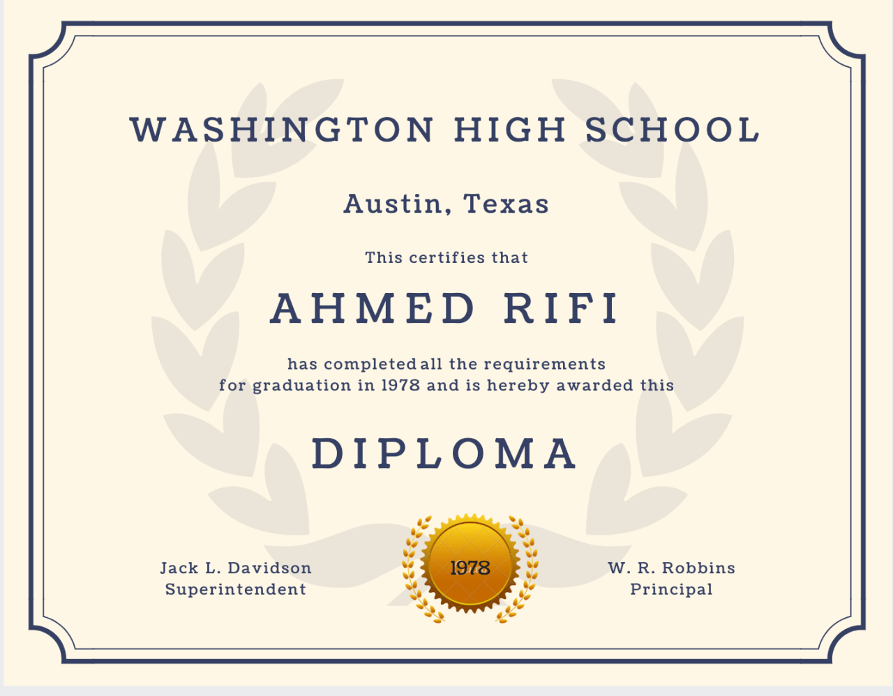 photograph about Printable Diploma Template identified as 60+ Free of charge Large College or university Degree Template - Printable