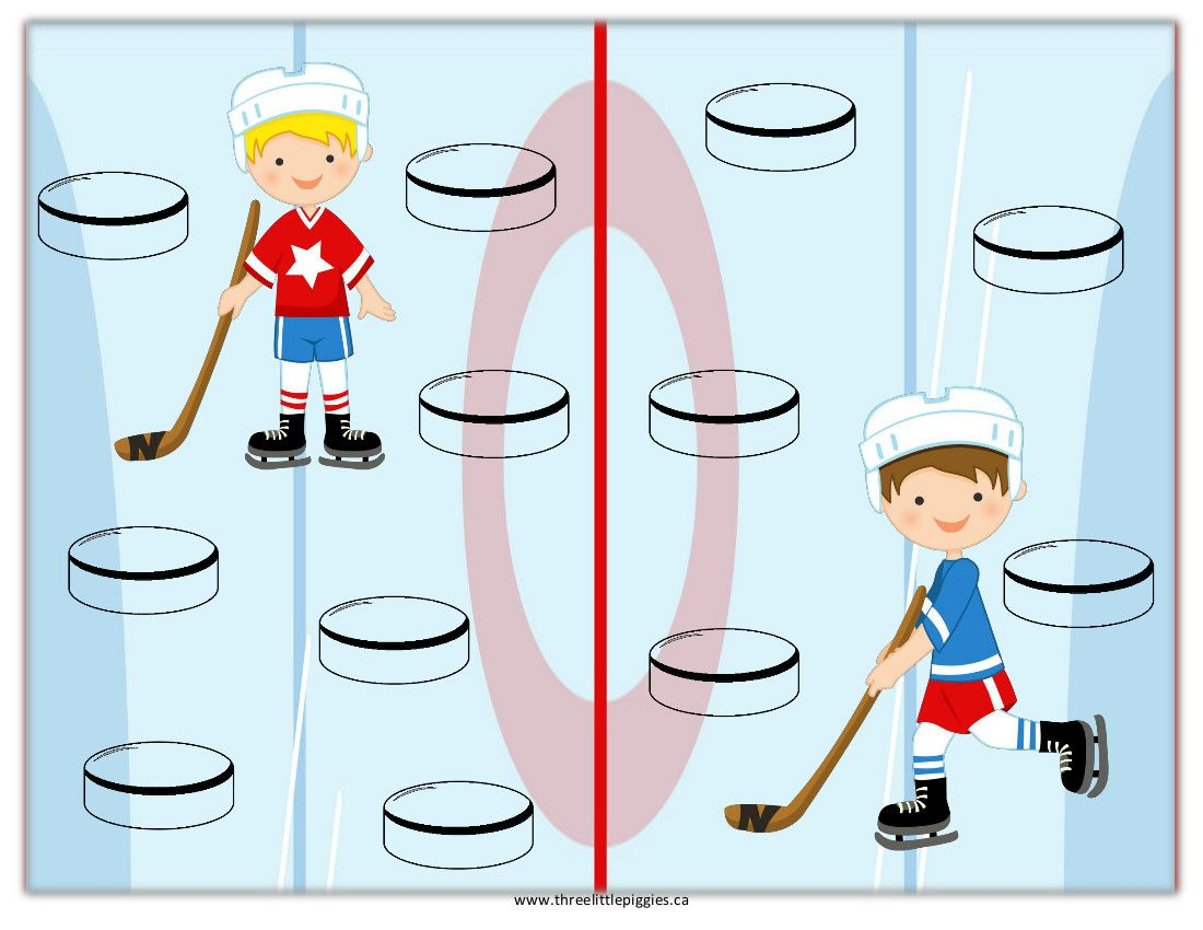Freebie Hockey Reward Chart