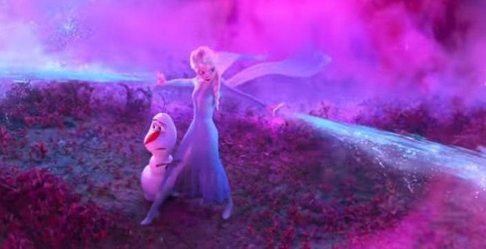 Elsa defends Olaf
