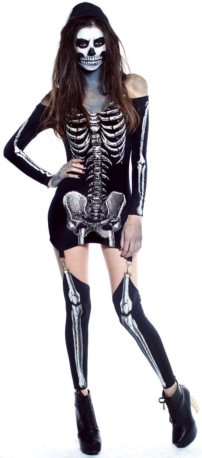 Sexy Xrayed Skeleton Costume   Boo!!!!!   Pinterest   Skeletons ...