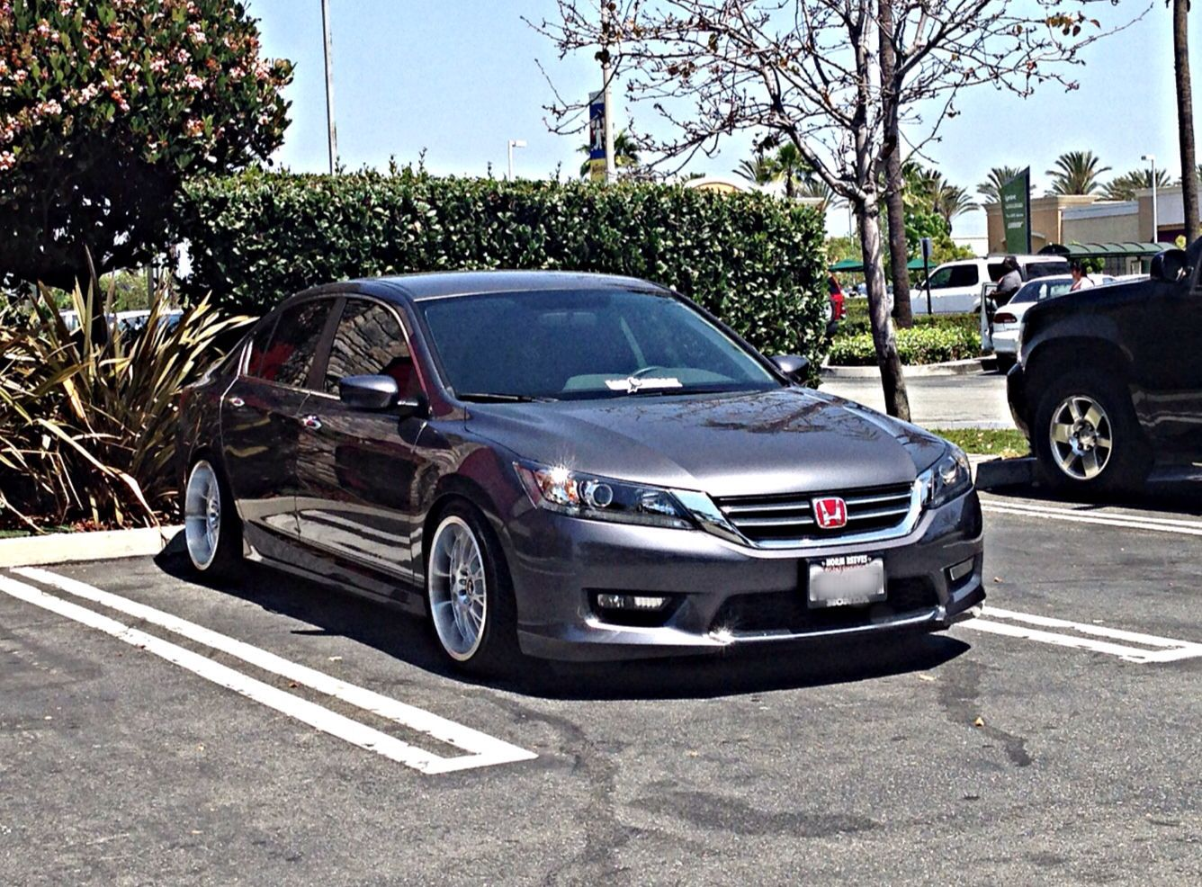 my very own 2014 accord sport sedan now sitting on staggered str wheels car craze. Black Bedroom Furniture Sets. Home Design Ideas