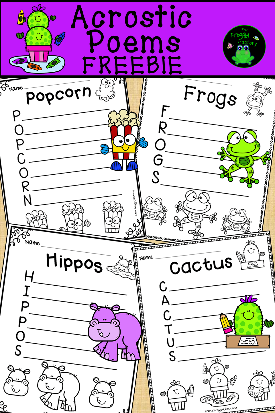 Are You Looking For A Fun Poetry Activity To Use Any Time Of The Year