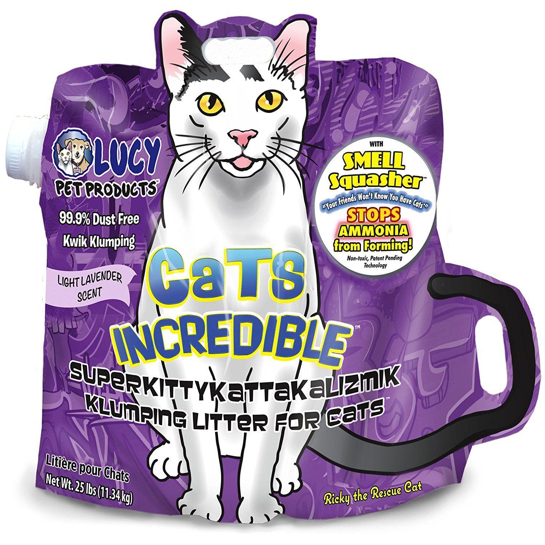 Cats Incredible Lavender SuperKittyKattakalizmik Klumping