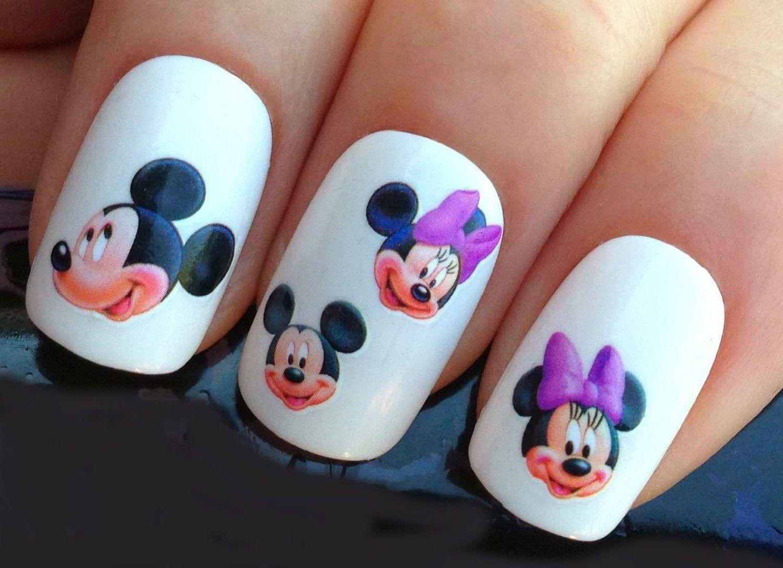 Cool Girls Stuff: Disney Nail Art Stickers - girly things ...