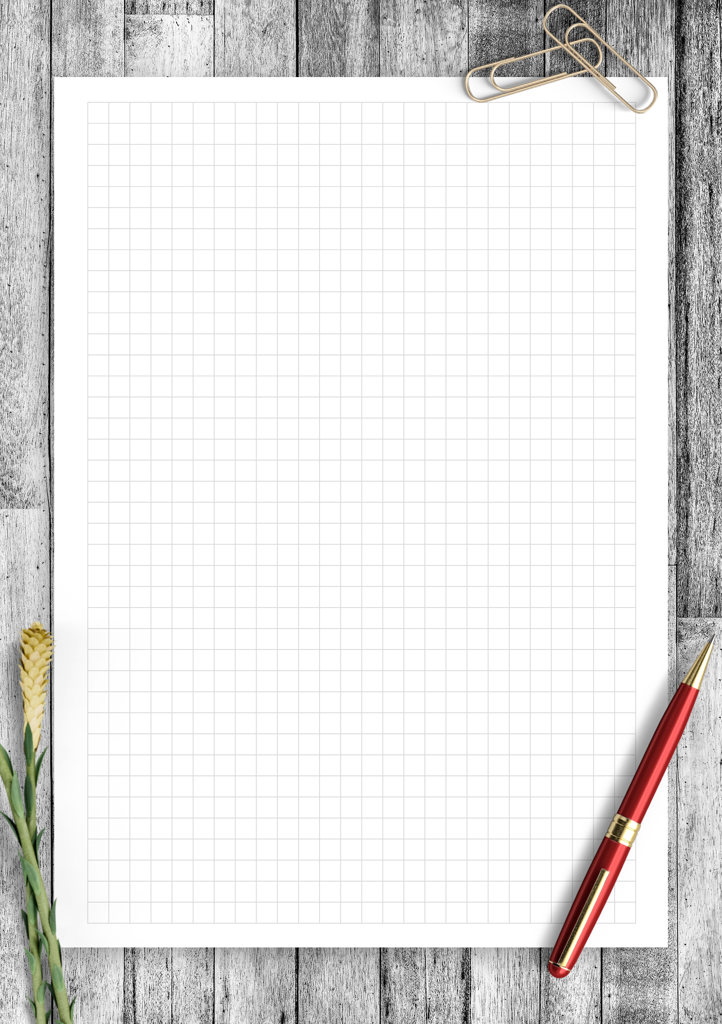 Printable Graph Paper Template With 1 5 Inch Square