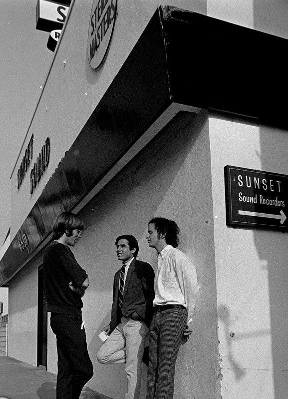 The Doors recording \u201cStrange Days\u201d at Sunset Sound Recorders 1967