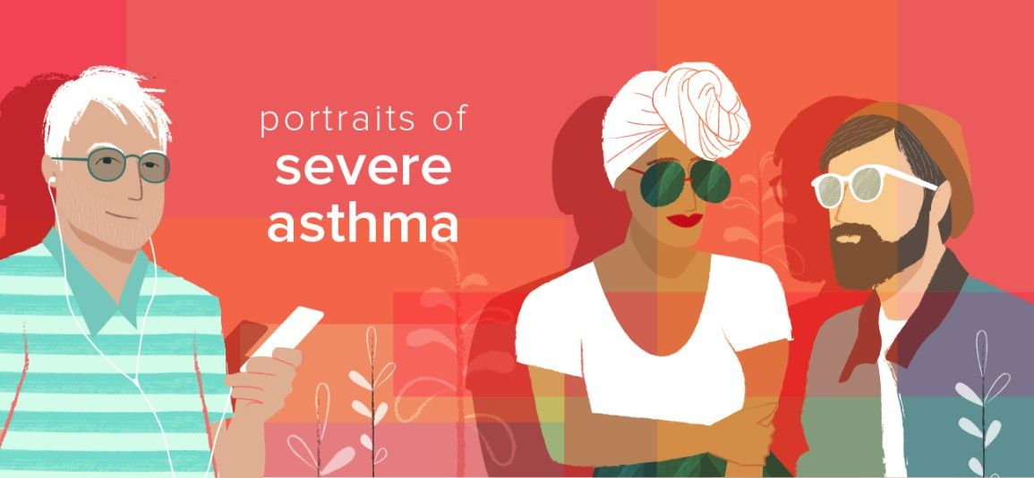 Portraits of People with Severe Asthma Crohns, Severe