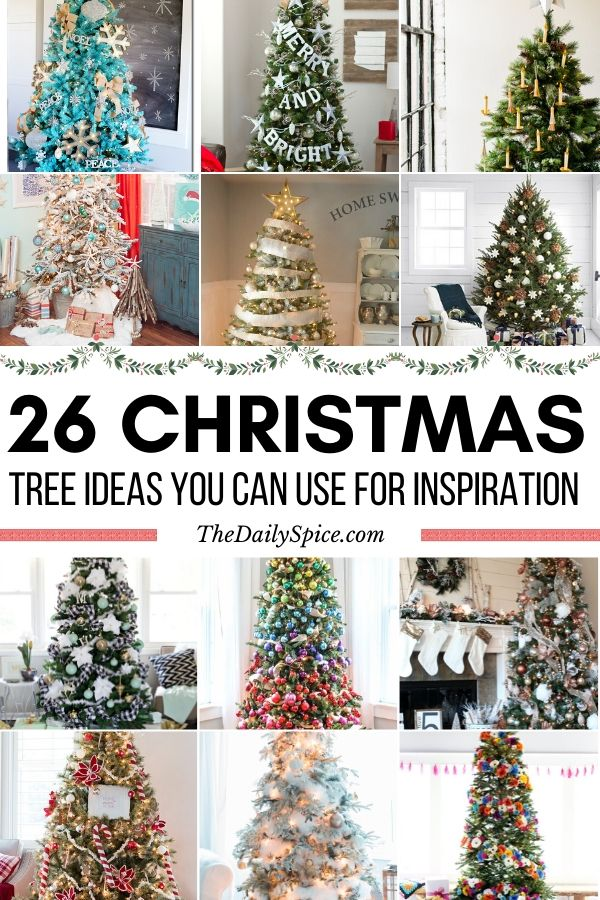 26 Gorgeous Christmas Tree Ideas You Ll Want To Copy This Year The Daily Spice Rainbow Christmas Tree Christmas Tree Themes Christmas Tree Decorations
