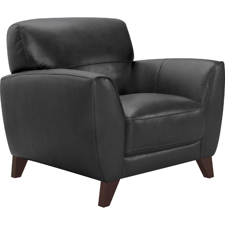 Peachy Armen Jedd Arm Chair Black Leather Brown Wood Legs Theyellowbook Wood Chair Design Ideas Theyellowbookinfo