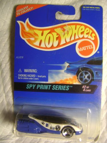 *1996 MATTEL-HOTWHEELS-COLLECTOR #554-SKY PRINT SERIES-EAVESDROP ON THE ENEMY-*