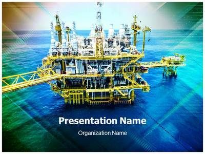 oil refinary powerpoint template is one of the best powerpoint, Presentation templates
