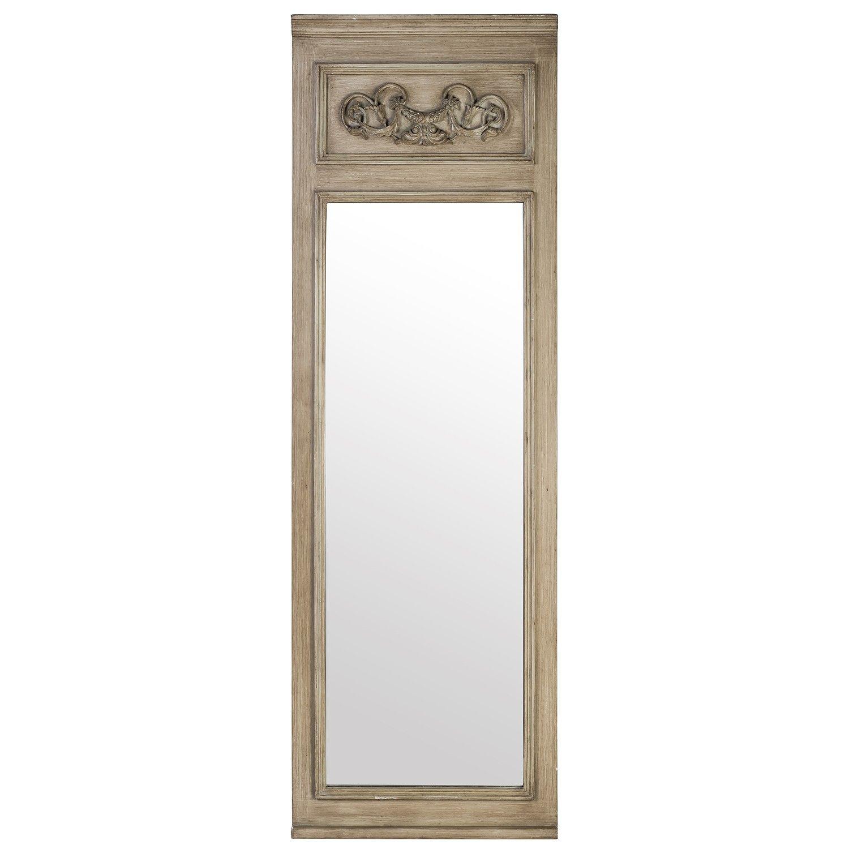 Vendee Long Mirror - Green Slate