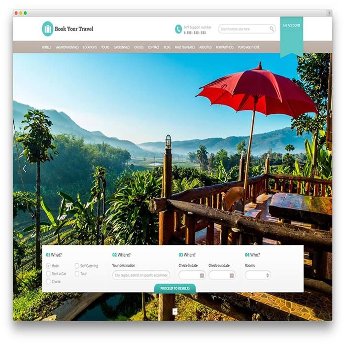 book-your-travel-wordpress-theme Travel Themes Pinterest