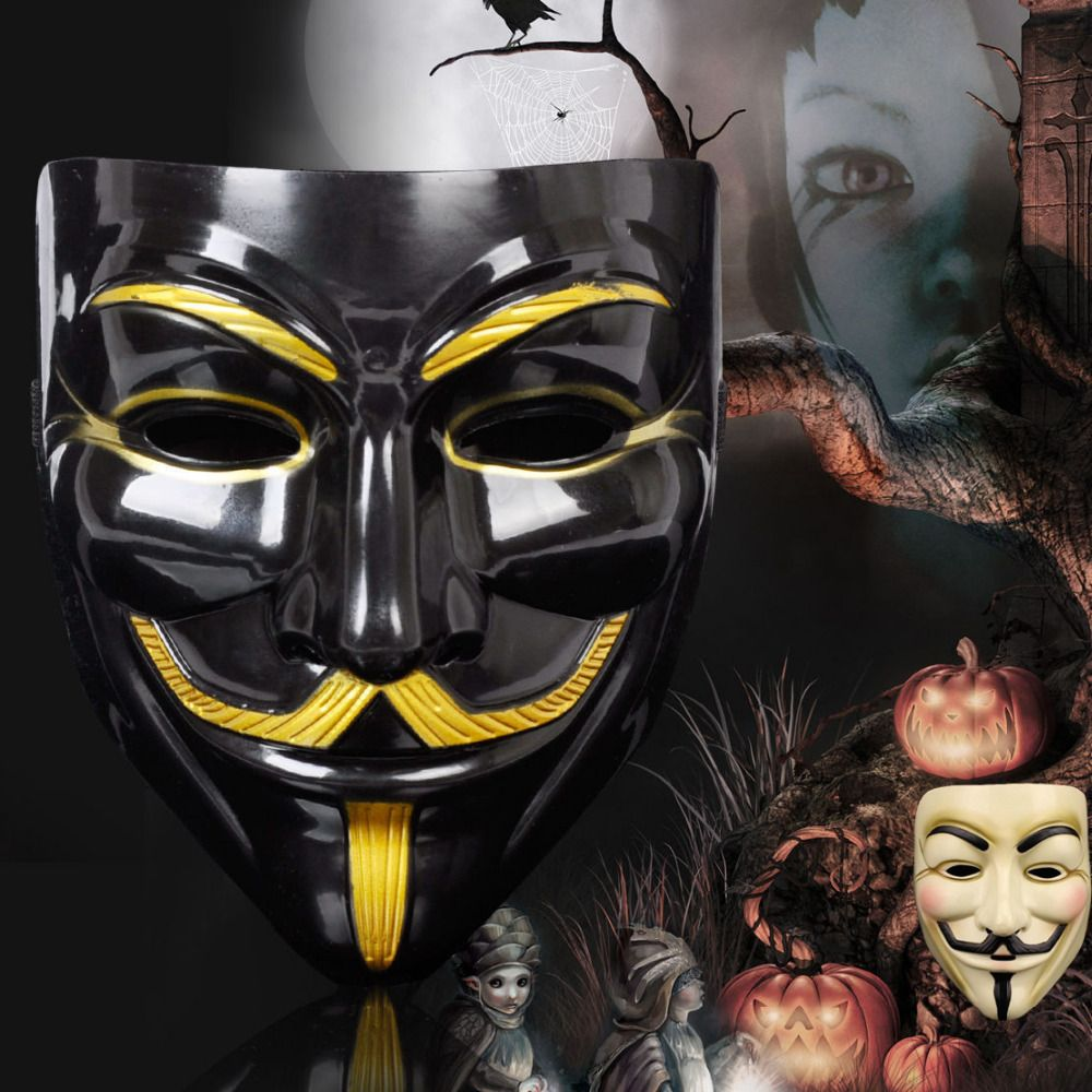 Hot Selling Party Masks V for Vendetta Mask Anonymous Guy Fawkes ...