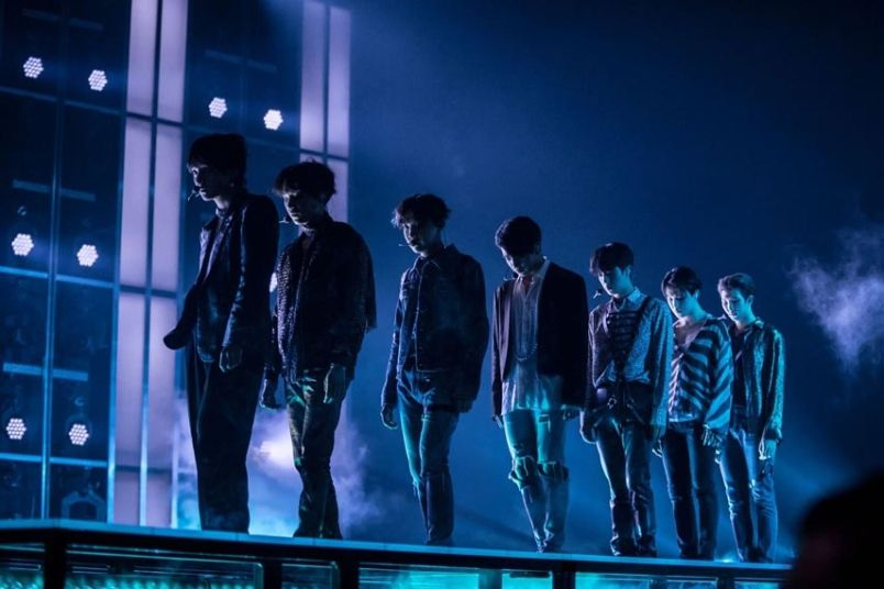 This Video Of Bts 2018 Mamas Performance Is A Mind Blowing Rock Remix Of Fake Love Music Kpop Bts M Bts Billboard Music Awards Bts Billboard Bts Concert Bts fake love wallpaper laptop