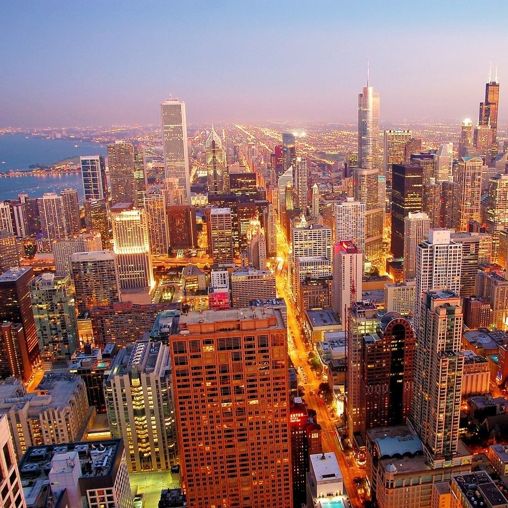 Chicago Email Database Chicago cityscape, Chicago