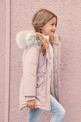 Younger Girls Coats & Jackets | Leather Coats & Jackets | Next