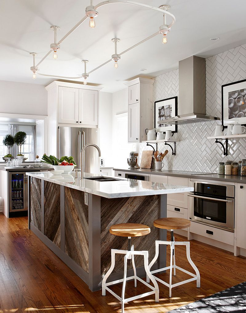 50 Inspiring Kitchen Island Ideas & Designs (Pictures) | Reclaimed ...