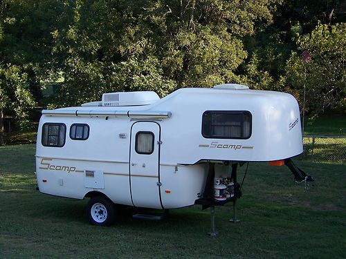 Scamp Travel Trailer 5th Wheel | Fiberglass RV | Scamp camper, 5th