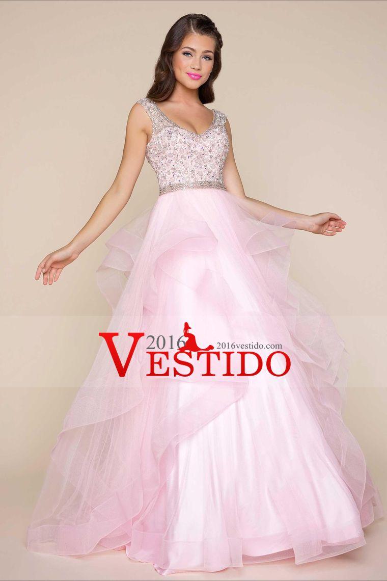 Excelente Vestidos De Baile De Tul Colección de Imágenes - Ideas de ...