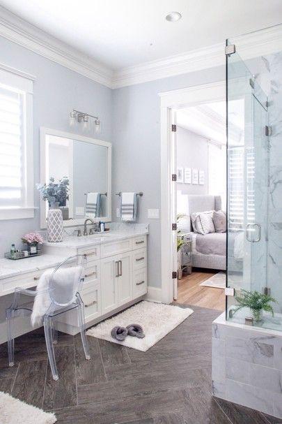 coastal master bathroom in 2020  master bathroom design