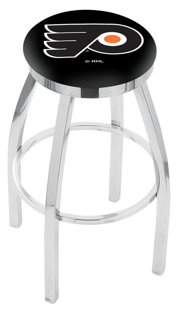 Philadelphia Flyers Barstool Chrome Kitchen Chair