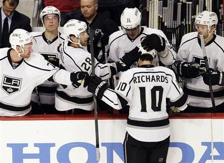 Mike Richards La Kings Hockey Kings Hockey Sports