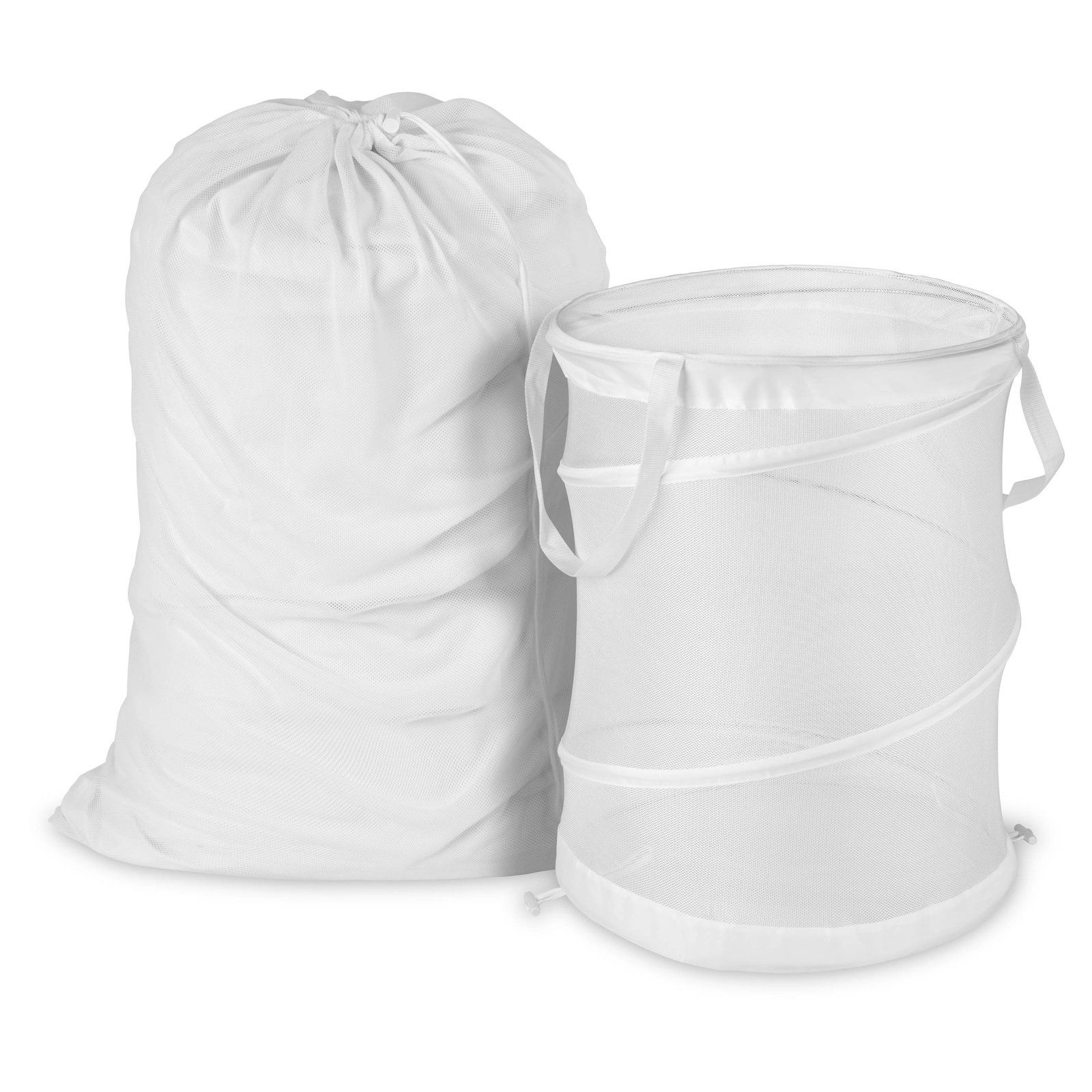Laundry Bags At Walmart Interesting Honey Can Do Mesh Laundry Bag And Hamper Kit  Ldyx03017  Products