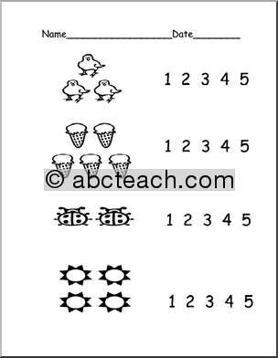 math worksheet : number names worksheets for kindergarten  google search  dot  : Free Pre K Math Worksheets