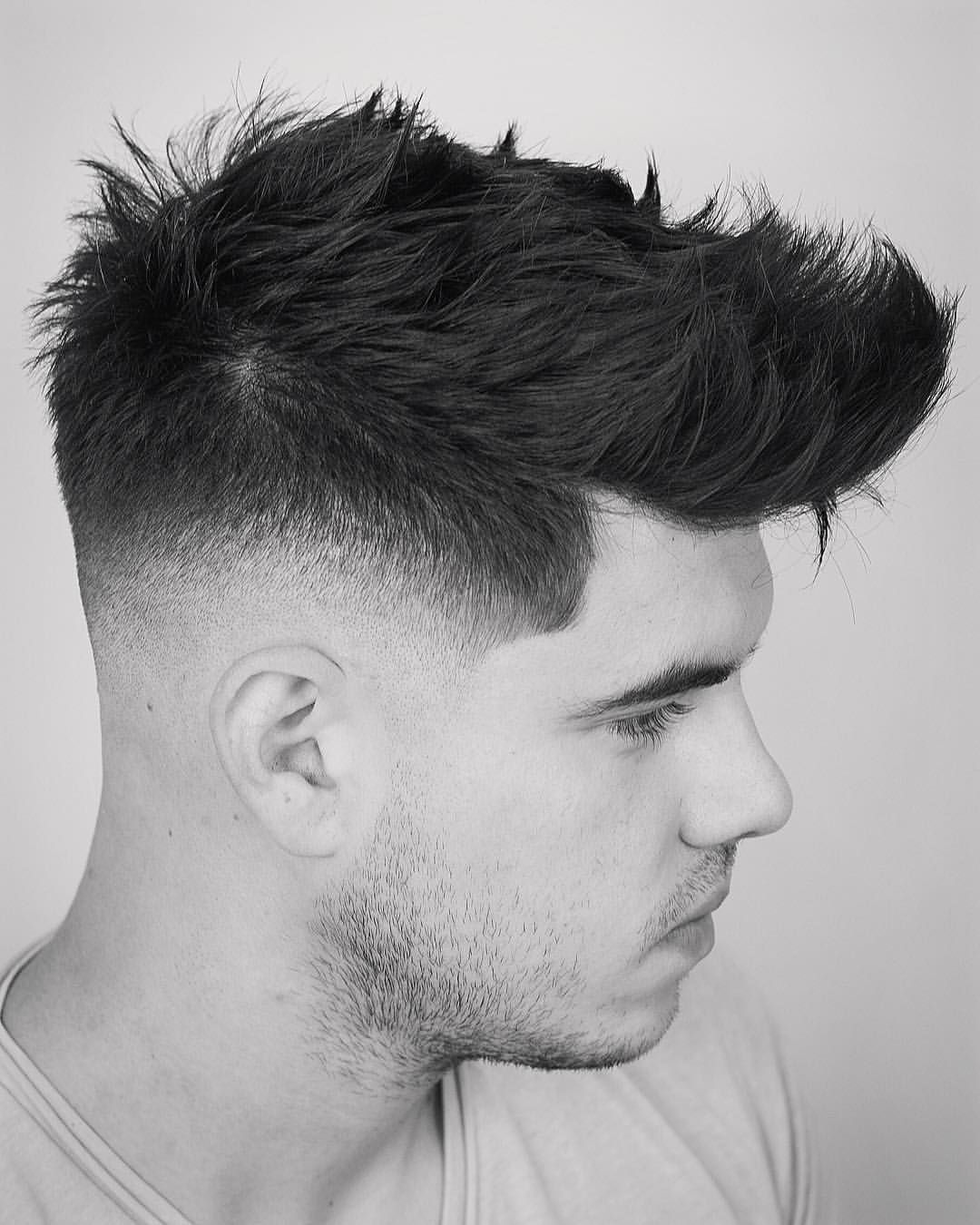 Different types of fade haircuts for men my second model from barbeka seminar sharpfade barberpost