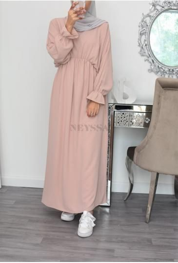 Robe longue Abaya mastour pas chèr, vêtement habil femme musulmane - Neyssa Boutique -   18 style Hijab winter ideas