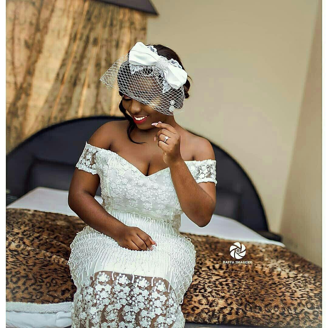 Weloveghanaweddings African Lace Dresses Lace Dress Styles Lace White Dress [ 1080 x 1080 Pixel ]
