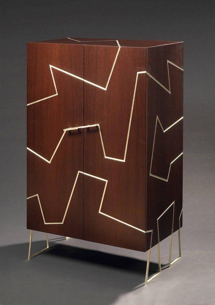 Lassen Sie sich von Mattia Bonetti beeindruckende Schränke inspirieren | #Einrichtungsideen #exklusivesdesign  #designideen #designinspirationen  #wohnideen #luxusmöbel #innenarchitektur #salonedelmobile #mailand #design #mdw2017