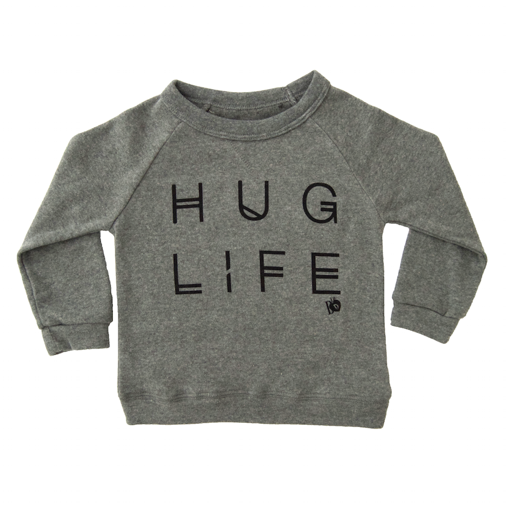 a2badc5ed213 hug life shirt, sweatshirt, baby boy, baby girl, toddler fashion baby  clothes, grey sweatshirt, fall winter fashion for kids, modern trendy  hipster kids