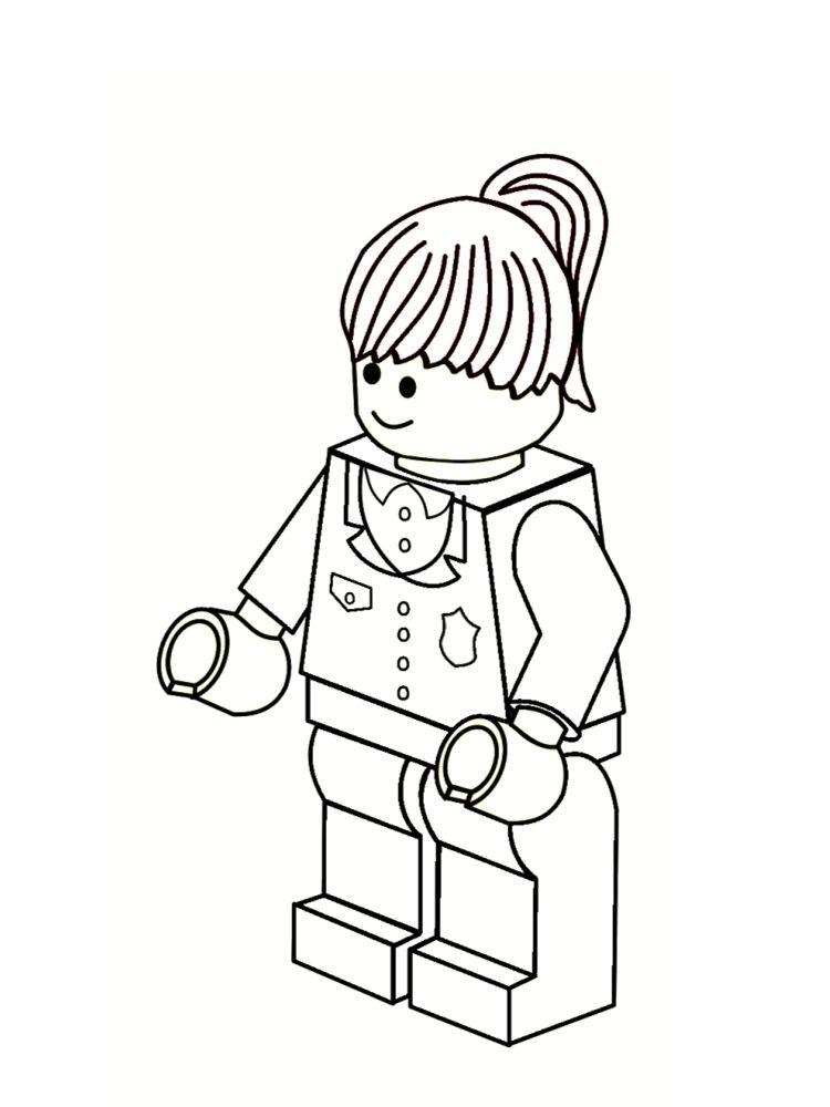 Coloriage Lego Fille.Epingle Par Jacqueline Viljoen Sur Lego Party Ideas Lego