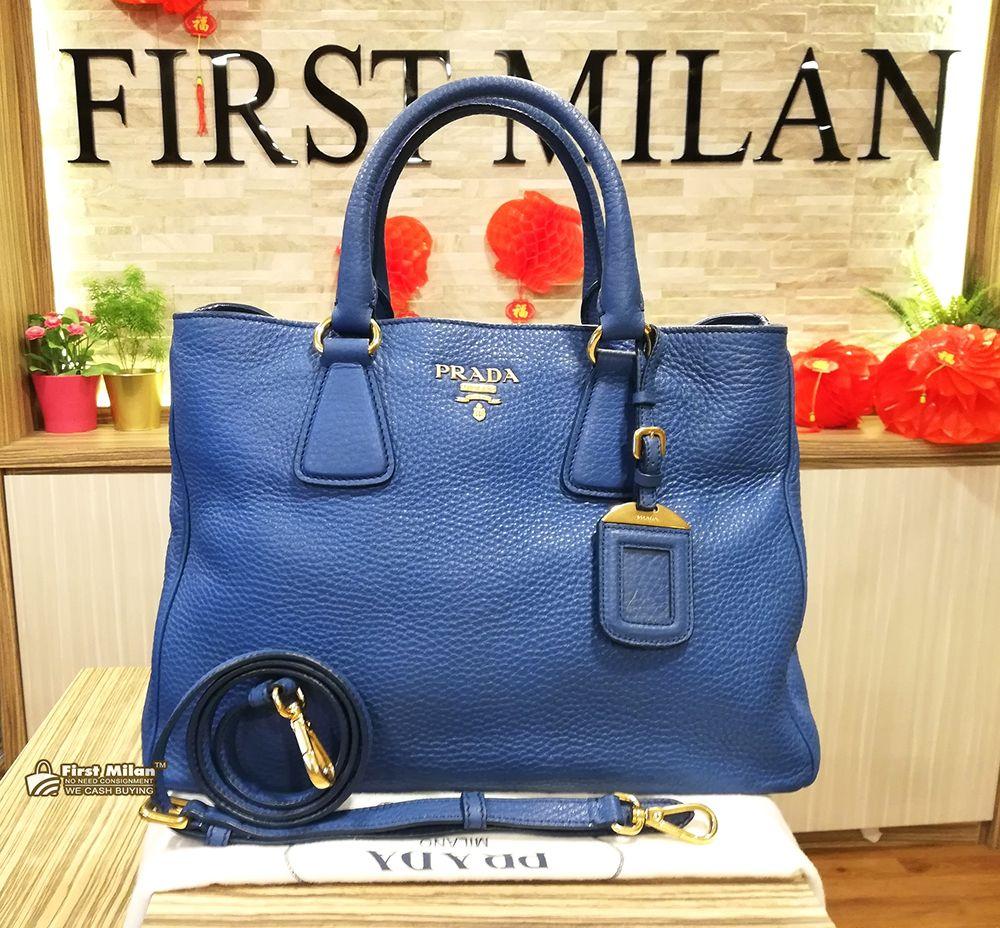 86cfa0402dbfeb PRADA Vitello Daino Two Way Bag. Price RM2,680 | PRADA in 2019 ...