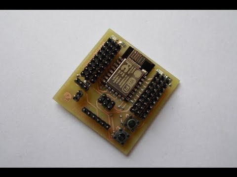 Part 2 : Update the Firmware of ESP-12E and Program the