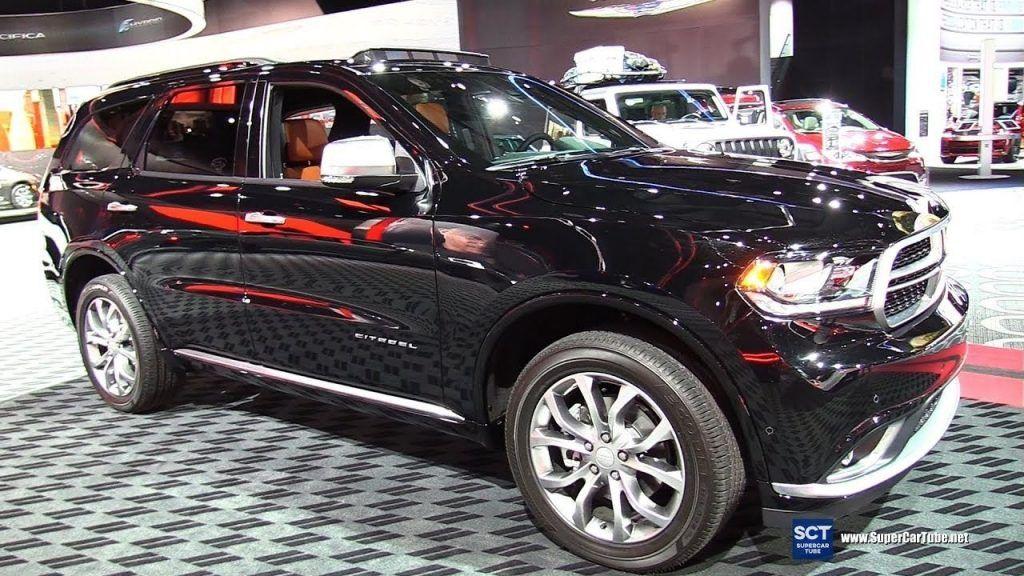 New 2019 Dodge Durango Citadel Interior Car Review 2019 All Car