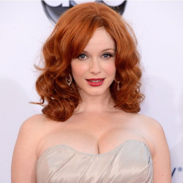 Napoleon Perdis Cosmetics Blog - FAB OR DRAB? Christina Hendricks... ❤ liked on Polyvore